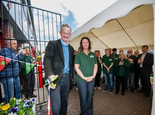 New A Squared manufacturing facility opened by John Penrose MP