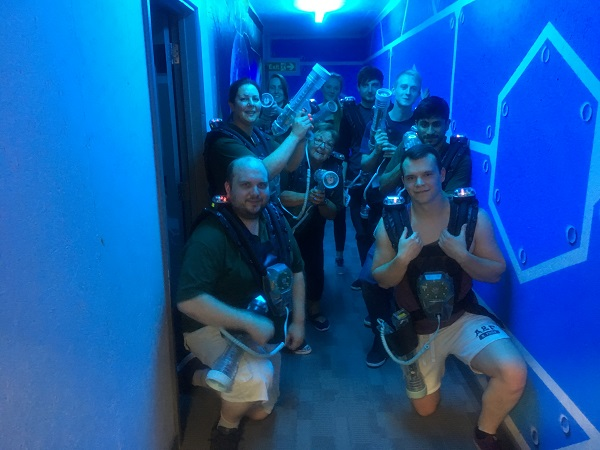 A Squared Technologies Laser Quest Adventure