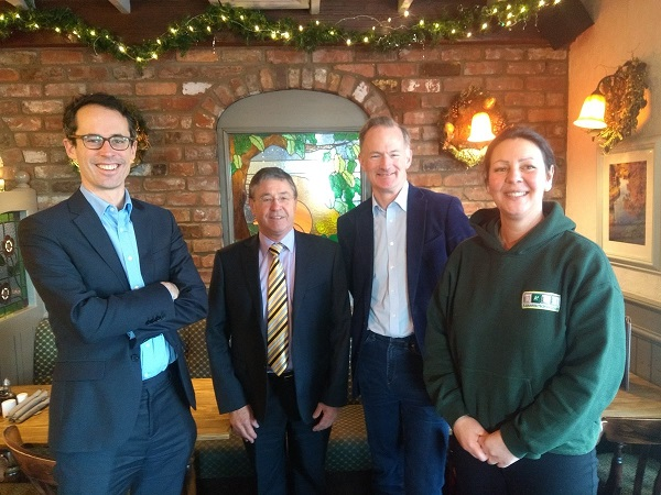 A Squared Technologies in Brexit talks with John Penrose MP