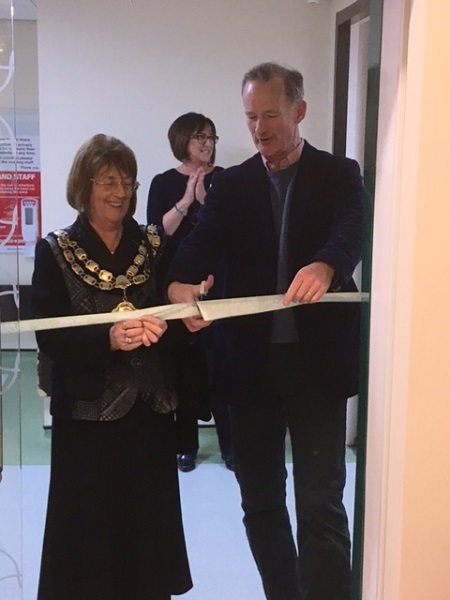 A Squared Technologies invited to opening of new Macmillan Support Centre