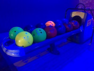 A Squared go Bowling (AKA the mystery of the orange ball)