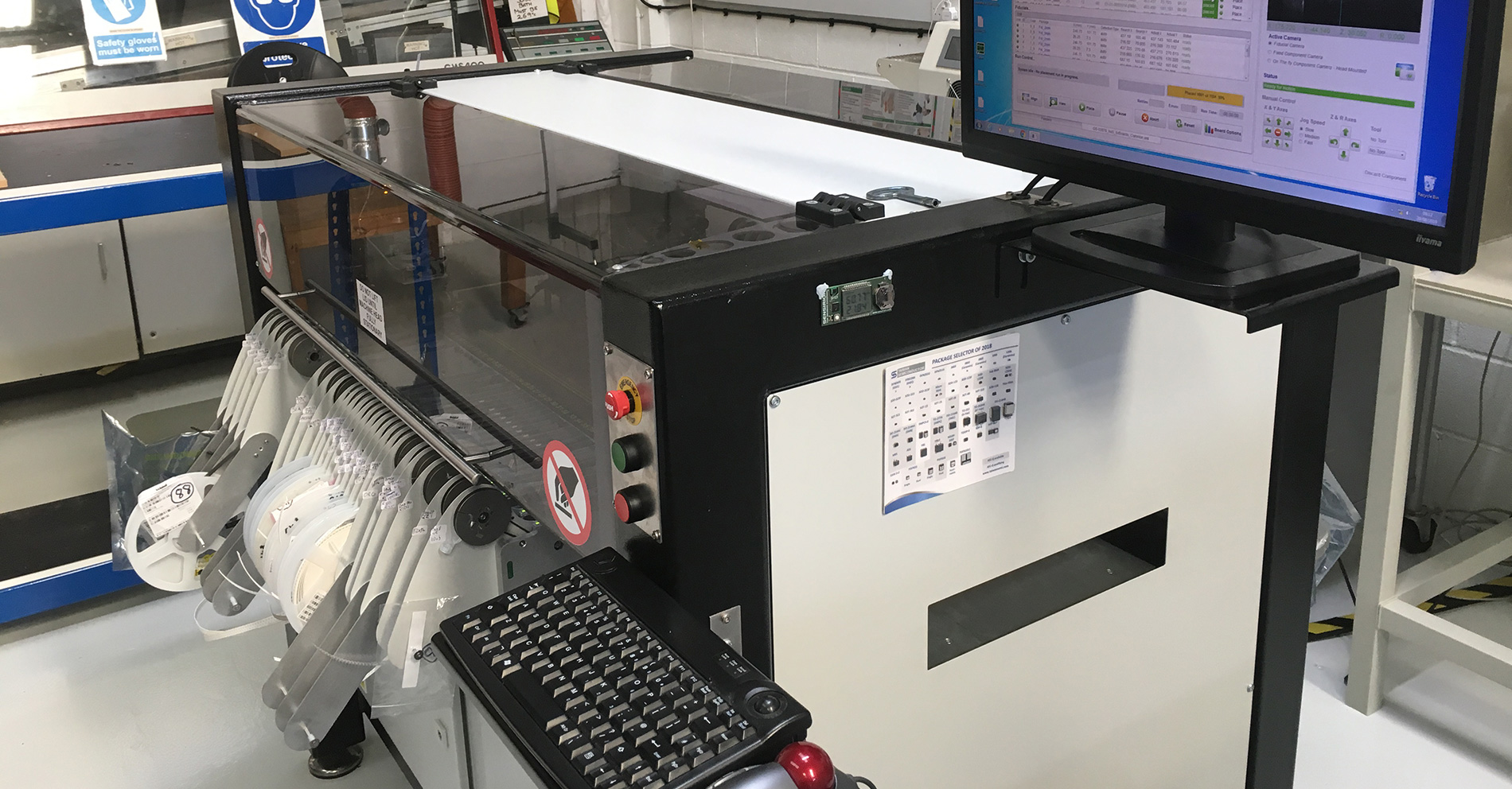 Learn more about our star equipment. The Surface Mount Machine.